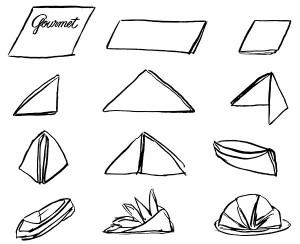 Gourmet folds